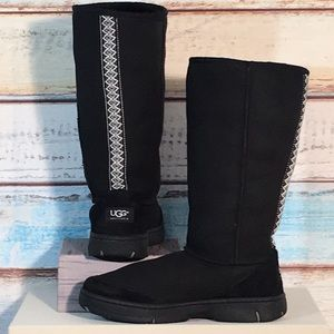 UGG ULTIMATE TALL BRAID BOOTS